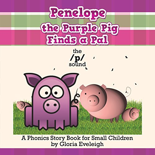 Penelope the Purple Pig Finds a Pal audiobook cover art