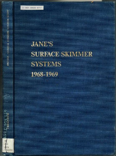 Jane's Surface Skimmer Systems. Second edition. 1968-69