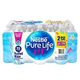 Nestle Pure Life Purified Bottled Water, 16.9 Fl Oz, Pack of 35