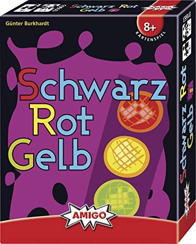Amigo Spiel + Freizeit 1720 1663 - Schwarz Rot Gelb, Kartenspiel