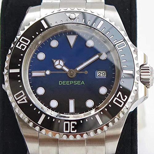 MKOIJN Horloges Luxe Merk Automatisch Mechanisch Horloge Voor De Heren Horloges Heren40Mm Saffierglas Lichtgevende Diepe Roestvrij Stalen Zee