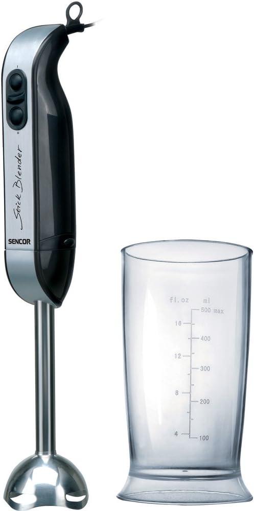 Sencor SHB 4355 - Batidora de mano, 0,5 l, 400 W, color negro