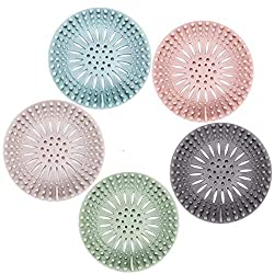 top rated Hair Trap Durable Silicone Hair Plug Shower Drain Cap Easy to install and clean Suit … 2021