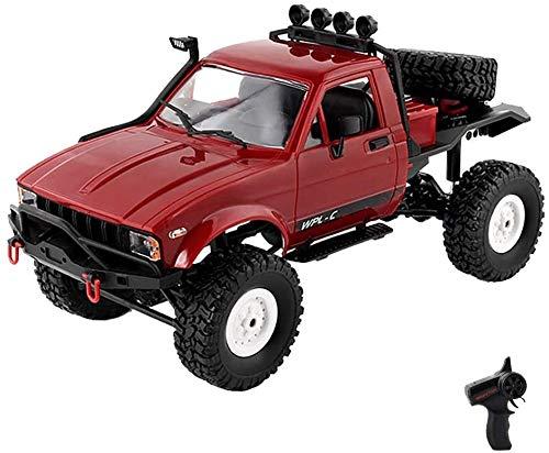 Coche de control remoto, todo terreno, camionetas RC, vehículos todo terreno, camión, coche de carreras eléctrico controlado por radio, modelo de vehículo de escalada de alta velocidad, juguetes con f