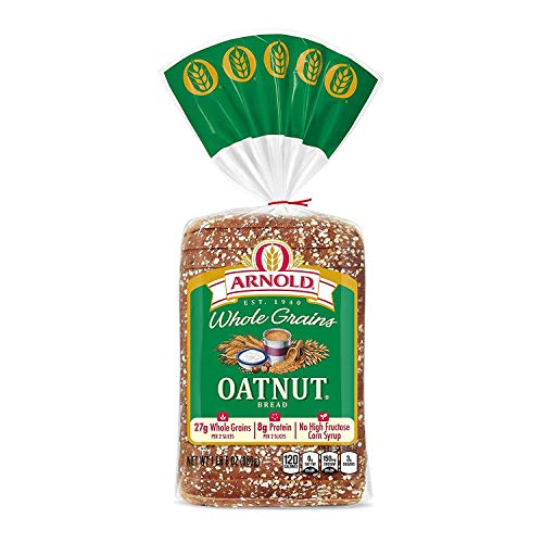 Arnold Whole Grains Oatnut Sliced Bread, 24 Oz - 2 Loaves