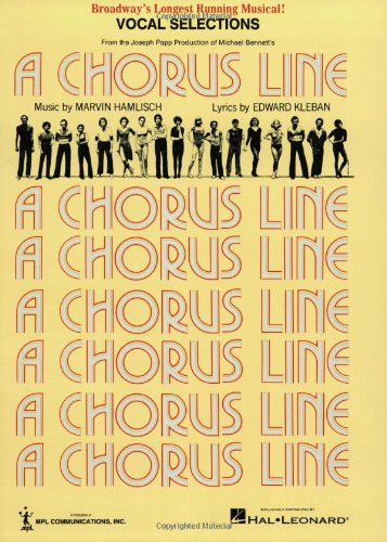 CHORUS LINE - UPDATED /E U: Vocal Selections