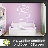 Domo Wandtattoo in 6 Größen - Wandaufkleber Wall Sticker