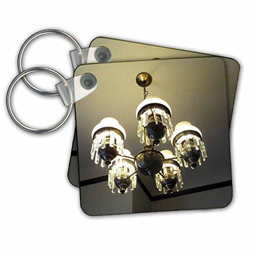 3dRose sleutelhanger in Mizpah gehaakt hotel, 6 cm