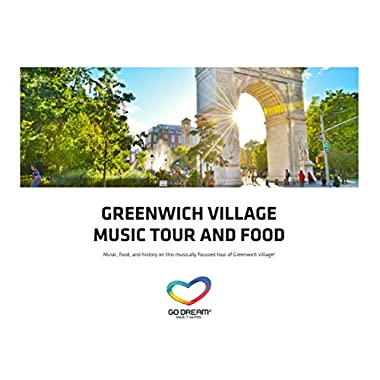 Greenwich Village Music Tour & Food in New York Experience Gift Card NYC - GO DREAM - Sent in a Gift Package
