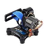 NEUFDAY Drone Gimbal, Metal Brushless Gimbal Board BGC 2.2 pour GoPro 3/3+/4 Camera RC Drone Quadcopter Part(Noir) 【Cadeau de Noël, Cadeau du Nouvel an】