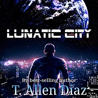 Lunatic City audiobook cover art