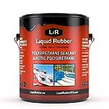 Liquid Rubber Polyurethane Sealant, White 1 Gal