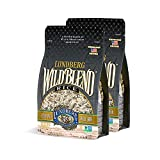 Lundberg Family Farms - Wild Blend Rice, Pantry Staple, Great for Cooking, Versatile, Rich Color, Full-Bodied Flavor, Whole Grain, Non-GMO, Gluten-Free, Vegan, Kosher (16 oz, 2-Pack)