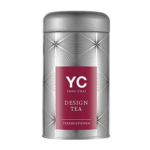Yang Chai Teeblumen geschenkset Tee Geschenk Symbiosis im 6er Pack – einein edles Geschenk für Frauen Teeblüten das ideale Tee Geschenkset für Teeliebhaber in stabiler Metalldose mit Teerosen Halter