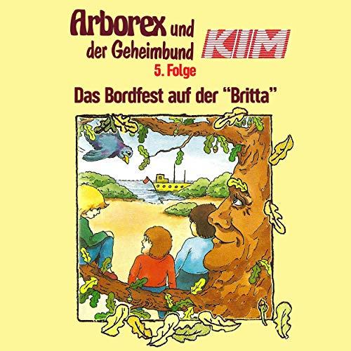 """Das Bordfest auf der """"Britta"""" audiobook cover art"""