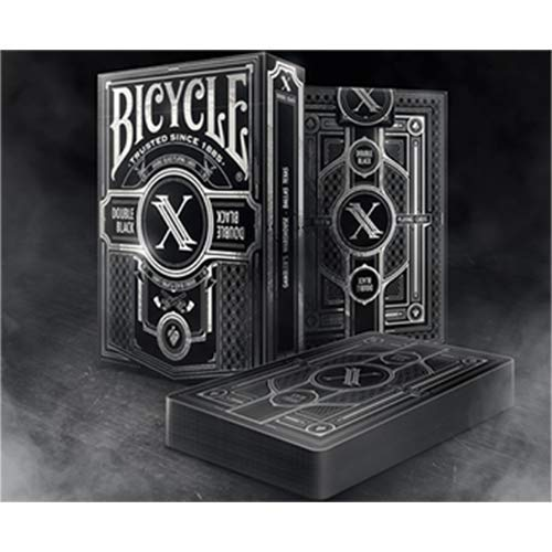 SOLOMAGIA Limited Edition Bicycle Double Black 2 Playing Cards