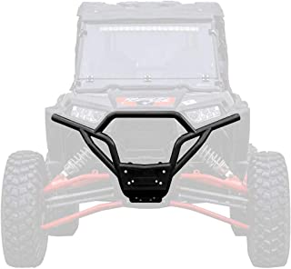 SuperATV Heavy Duty Front Bumper for Polaris RZR 900/900 S / 4 900 (Manufactured Before 8/31/14) - Wrinkle Black