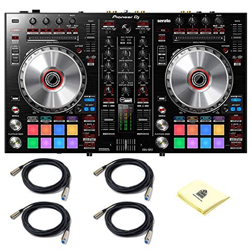 Best Prices! Pioneer DJ DDJ SR2 Portable 2 Channel DVS Compatible Bus Powered DJ Controller for Sera...