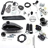 Kits de motor de bicicleta de 50cc Bicicleta de 2 tiempos Ciclo de pedal de motor de gasolina Kit de motor de gasolina 30 km/h para bicicletas motorizadas de 26'28'