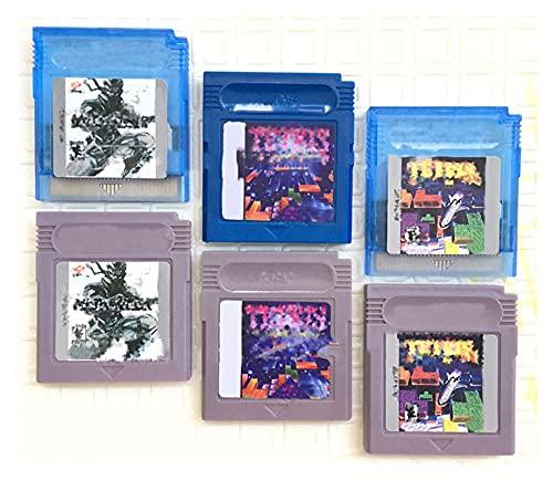 CMDZSW Video Game es adecuado para tarjetas de consola de juegos de cartas de 16 bits Super Tetris Series Metal Gear (color: Tetris (mundo) gris)