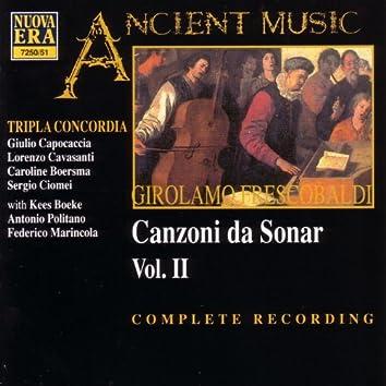 Frescobaldi: Canzoni Da Sonar Vol II