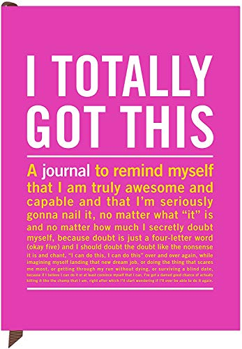 Knock Knock I Totally Got This Inner-Truth Journal (Large, 7 x 9.5-inches) Photo #8