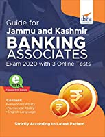 Guide for Jammu and Kashmir Banking Associates Exam 2020 with 3 Online Tests