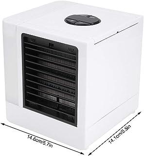 Cafopgrill Refrigerador de Aire portátil Ultra Air Cooler con LED USB Mini Ventilador de Escritorio