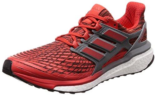 adidas Energy Boost M, Zapatillas de Running para Hombre, Rojo (Roalre/Roalre/Gritre 000), 42 2/3 EU