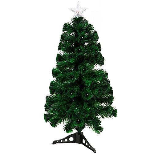 LED & albero di Natale in fibra ottica