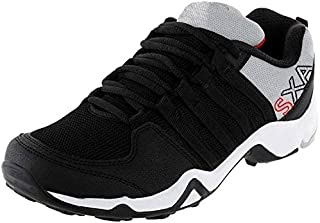 CLYMB Perfect Black Sport Shoes for Men