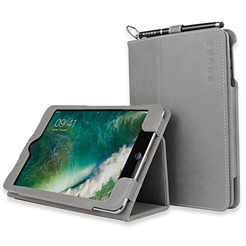 Snugg iPad Air (2014) and iPad 9.7 (2018) Leather Case Cover Protective Flip Stand Cover - G