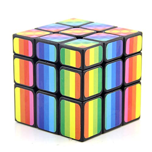 Profession Magic Cube, Speed Cube, Alien Cube Fast Smooth No Stickers Turning Solid Puzzle Cube Easy...
