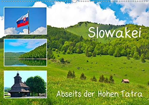 Slowakei - Abseits der Hohen Tatra (Wandkalender 2021 DIN A2 quer)