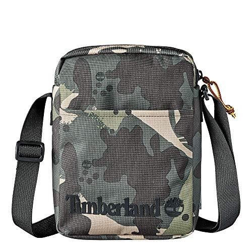 Timberland Tasche Small Items Bag Print Green Camo, Camogrün