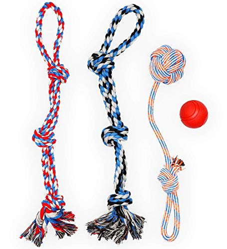XL DOG ROPE TOYS FOR AGGRESSIVE CHEWERS - LARGE...