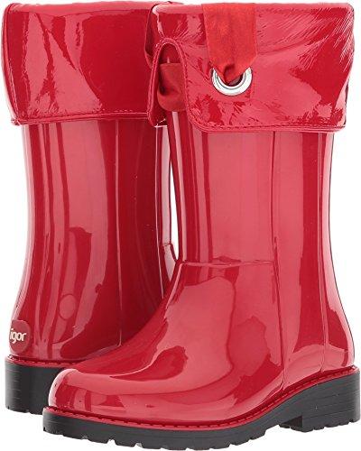 IGOR W10114005 Bota DE Agua CAMPERA Charol Rojo NIÑA