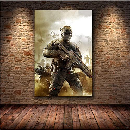 Fymm丶shop Call of Duty Canvas Wall Art Poster Y Canvas Print Cuadro Sin Marco Cuadro Decorativo para Dormitorio Decoración para El Hogar 50X70Cm (P: 0892)