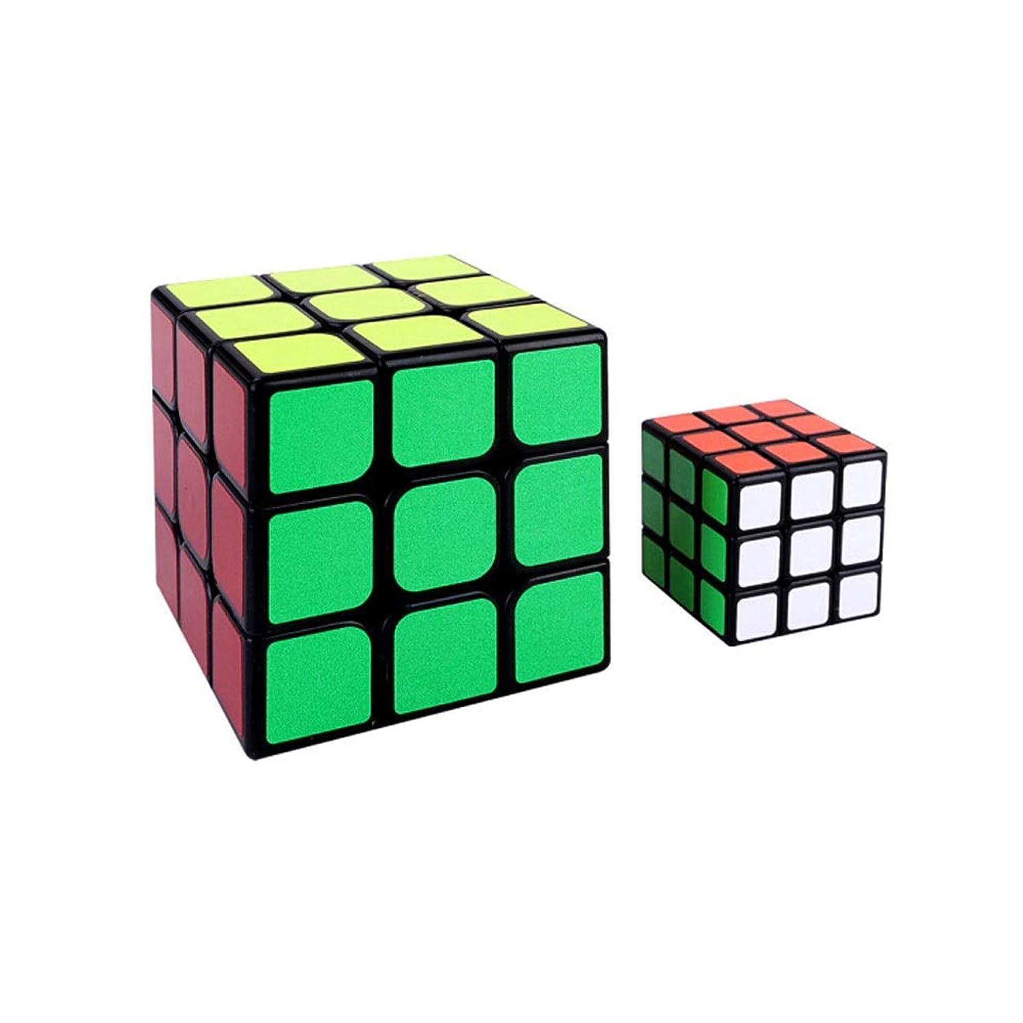 然とした金銭的どのくらいの頻度でHongyuantongxun ルービックキューブ、パズルに使われるパズルキューブ、3次クラシックデザイン、高品質のプラスチック素材で作られた(2次3次) 実用的 (Edition : Third-order*2)