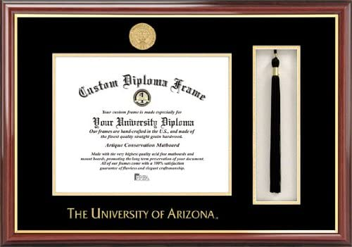 Campus Images NCAA Arizona Wildcats Box Diploma Finally resale start Tassel Frame Elegant and