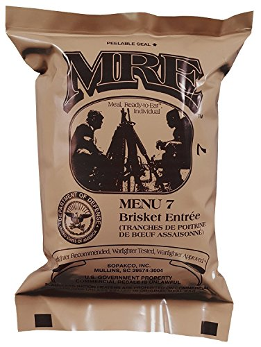 Ammo Can Man Ultimate MRE, Pack Date Printed on Every Meal - Meal-Ready-to-Eat. Inspected Certified Fresh by Pack Date 8/2014 or Newer. Inspection 8/2017 or up. Genuine Mil Surplus. by