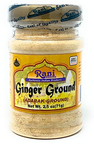 Rani Ginger (Adarak) Powder Ground, Indian Spice 2.5oz (71g) ~ Gluten Free