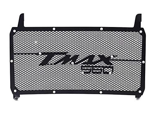 Mota Rejilla de radiador de acero inoxidable Protección de protección de piedra de Color negro TMAX 560 2019-2020 Accesorio para equipo de scooter