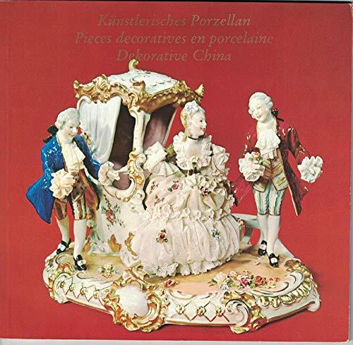 Künstlerisches Porzellan - Pieces decoratives en porcelaine - Dekorative China.