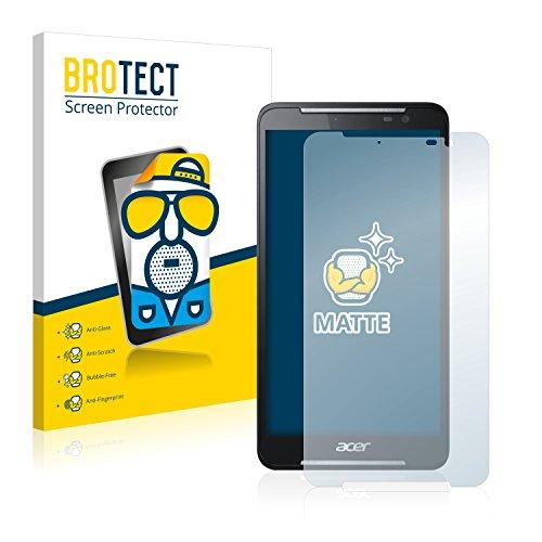 BROTECT 2X Entspiegelungs-Schutzfolie kompatibel mit Acer Iconia Talk S A1-724 Bildschirmschutz-Folie Matt, Anti-Reflex, Anti-Fingerprint