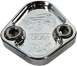 JACER Enterprises F153-JS38 - AMC CJ-5 Jeep 304 Custom Fuel Pump Block Off with Bolts