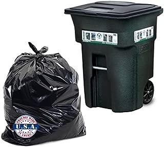 Dyno Products Online - 96 Gallon black, 1.5 Mil. Huge Toter Trash Bag 61