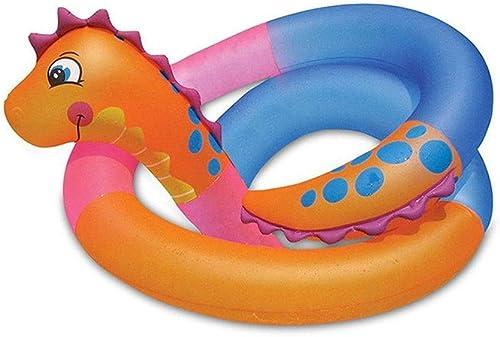 Extra Lang, PVC, Schwimmring, Aufblasbare Schwimmreihe, Hippocampusform, Geeignet Für Partys, Erwachsene, Kinder, 630cm, Urlaub Genie , Strand, Poolparty,