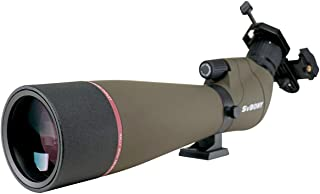 SVBONY SV13 Spotting Scope, 20-60x80mm Bird Watching, Target Shooting Hunting IPX7 Waterproof Bak4 FMC Telescope with Phon...