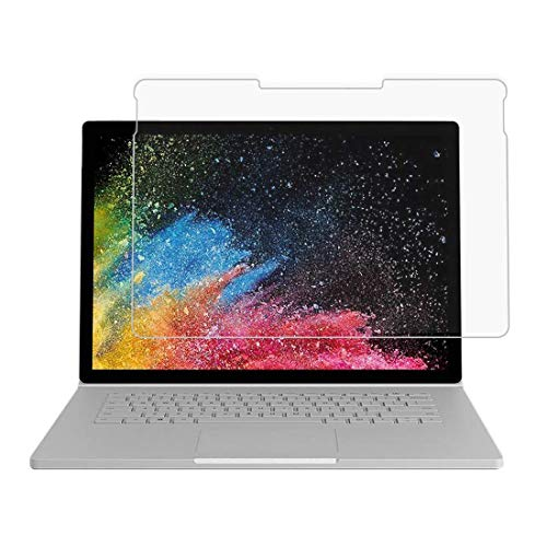 [3 unidades] Película para Microsoft Surface Book 2 (15 polegadas), película de vidro temperado para Microsoft Surface Book 2 (15 polegadas), protetor de tela transparente resistente a arranhões para Microsoft Surface Book 2 de 15 polegadas